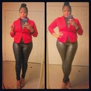 Candy Yum Yum, Body suit, blazer ;)