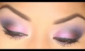 Purple Winterball Makeup