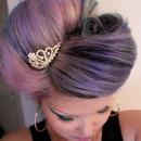 Pastel Pink + Lavender + My Tiara!