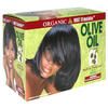 ORGANIC Root Stimulator Olive Oil Built-In Protection No-Lye Relaxer