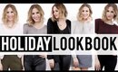 Holiday Party Lookbook 2015 ♡ 15 OUTFIT IDEAS | JamiePaigeBeauty