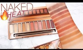 Review & Swatches: URBAN DECAY Naked Heat Palette