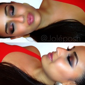 Pictorial + all product details are on two previous posts 👍 ✨  Follow my links for more looks + tutorials:  http://Instagram.com/Joleposh http://Facebook.com/Joleposh http://YouTube.com/Joleposh