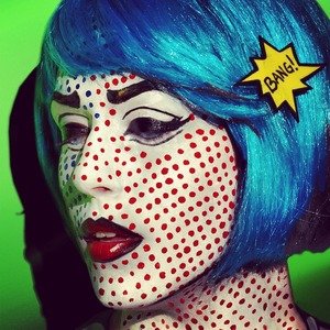 Another shot of my Roy Lichtenstein inspired Comic Book Girl :)