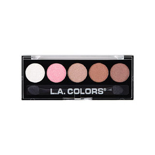 L.A. Colors 5 Color Metallic Eyeshadow Palette