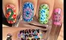 New Years Ishihara Nails by The Crafty Ninja