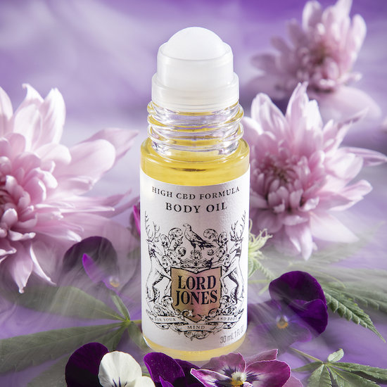 Alternate product image for Body Oil shown with the description.