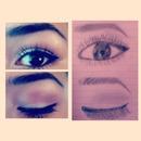 My drawing of my eye nailed it 😜✌