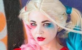 Harley Quinn Suicide Squad make up