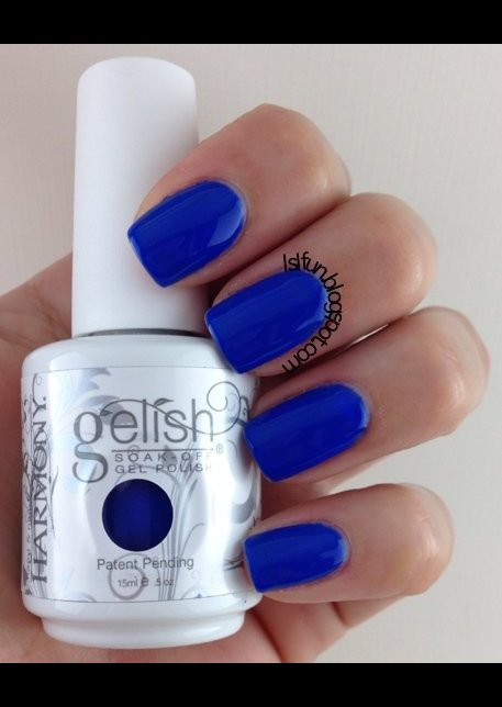 Gelish Mali Blu Me Away Lyubomira L S Photo Beautylish