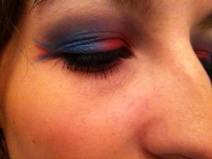 Crimson and blue for my precious Jayhawks!