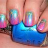 Lisa Frank gradient w/ shatter