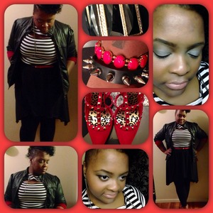 Hi-Low Dress- Dots 