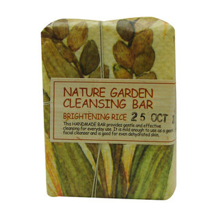 The Face Shop Nature Garden Cleansing Bar - Brightening Rice