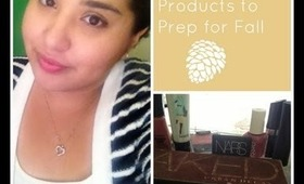 Beauty Products to Prep for Fall