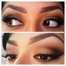 Neutral bronze eye