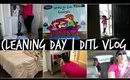 CLEANING DAY | DITL VLOG | #luckytoliveinga