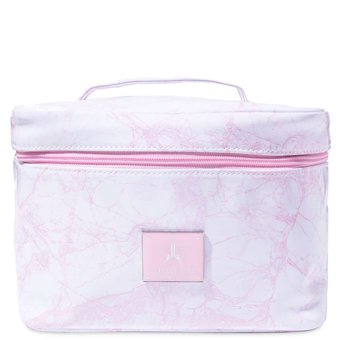 Jeffree Star Cosmetics Travel Makeup Bag White Marble alternative view 1 - product swatch.