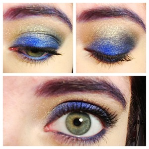 Used the vice palette by UD