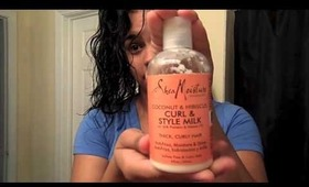 Curly Hair Routine using a Diffuser 720p