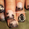 Ana Cruz Inspired Nail Art