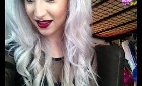 How to dye your hair WHITE!