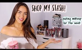 SHOP MY STASH | Picking Products for the Week!