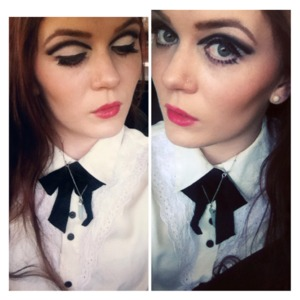 """This is """"Twiggy/60's"""" inspired makeup. Makeup by: Jay Kruse."""