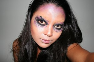 New York Color Evil Fairy Makeup Look