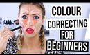 BEGINNER'S GUIDE TO MAKEUP || Color Correcting!