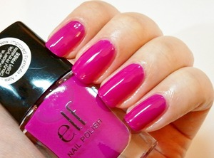 The is a new shade, found in Target stores. http://www.beautybykrystal.com/2012/12/new-elf-nail-polish-in-fab-fuchsia-at.html