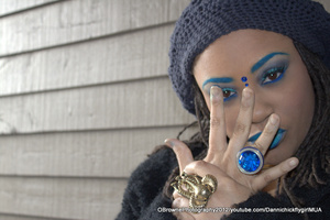 """i AM THE BLUEPRINT.  i AM THE BLUEPRINT. (Make up done by: ME) http://youtube.com/DannichickflygirlMUA Twitter:@Dannichick Eyes: Magnolia Makeup """"Crushed"""" and """"Mystique"""" Eyes: M.A.C Cosmetics """"Parrot"""" and """"Ricepaper"""" Lips: Obsessive Compulsive Cosmetics """"Rx"""" and """"Lo-Fi"""" Eyebrows: M.A.C Cosmetics """"Electric Eel"""" http://youtube.com/DannichickflygirlMUA"""