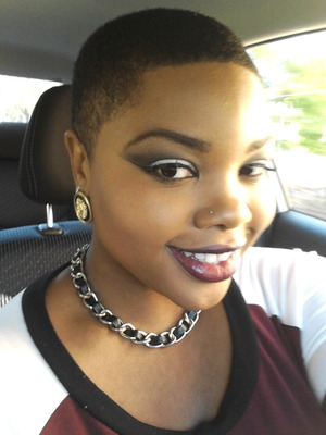 A sultry smokey eye with my fav Deep Plum lipcolor using NYX's Currant & MAC's Cyber