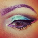 decent cut crease!! I still need to practice some more