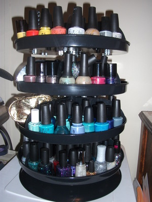 My nail polish tower of happiness :)