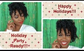 Holiday Party Look: Black Women friendly