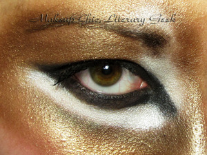 Here Me Roar EOTD Inspired by a photo of a lioness, this is a Halloween look I was playing around with for fun! You can see what I used on my blog: http://www.makeupchicliterarygeek.com/2011/10/halloween-eye-series-hear-me-roar-eotd.html