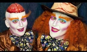 WHY IS THE MAD HATTER MAD?!? A Dark Wonderland Inspired Makeup Tutorial