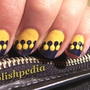 Zipper Nail Art