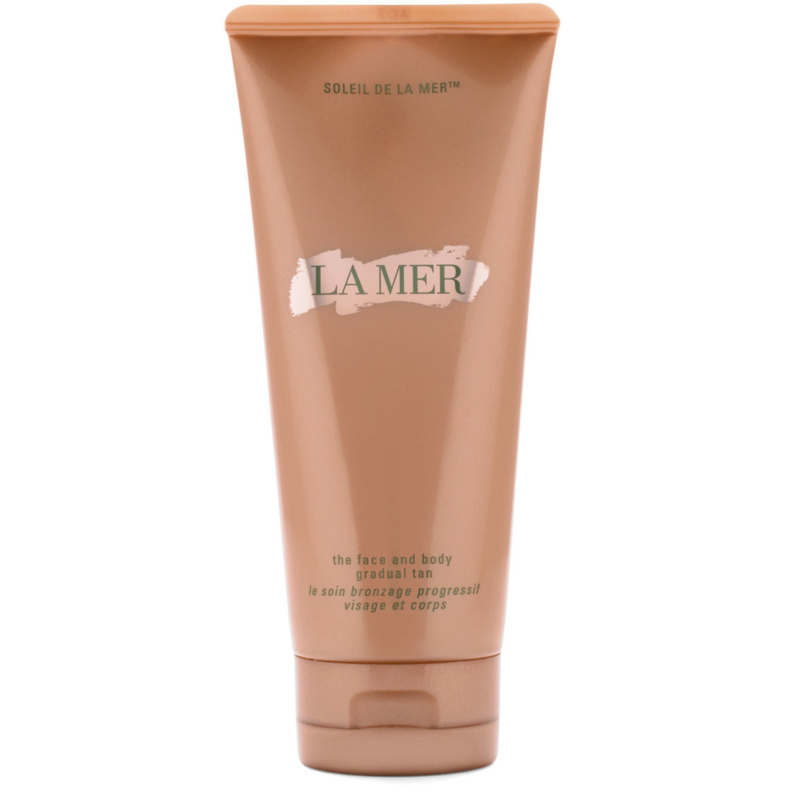 La Mer The Face & Body Gradual Tan product swatch.