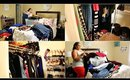 NEW!!! ULTIMATE CLEAN WITH ME | MASSIVE CLOSET CLEANOUT | CLOSET ORGANIZATION