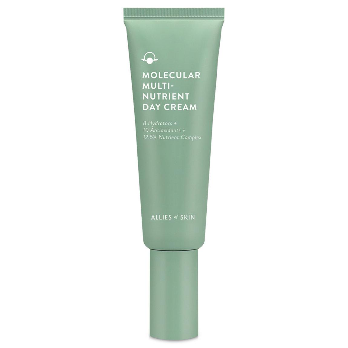 Allies of Skin Molecular Multi-Nutrient Day Cream product swatch.