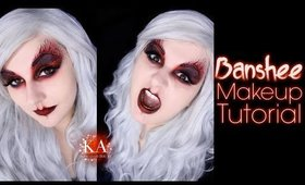 Banshee Halloween Makeup Tutorial - 31 Days of Halloween