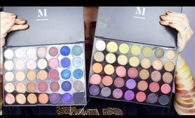 Morphe Eyeshadow Palettes Review