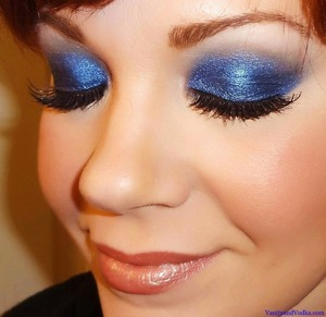 For more information on products used, Please visit: http://www.vanityandvodka.com/2013/05/brilliant-blue.html ;-)