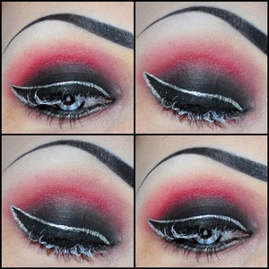 Pigment is mixed with Elf Lock & Seal to make a liner!
