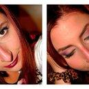 Natural Violet Make up