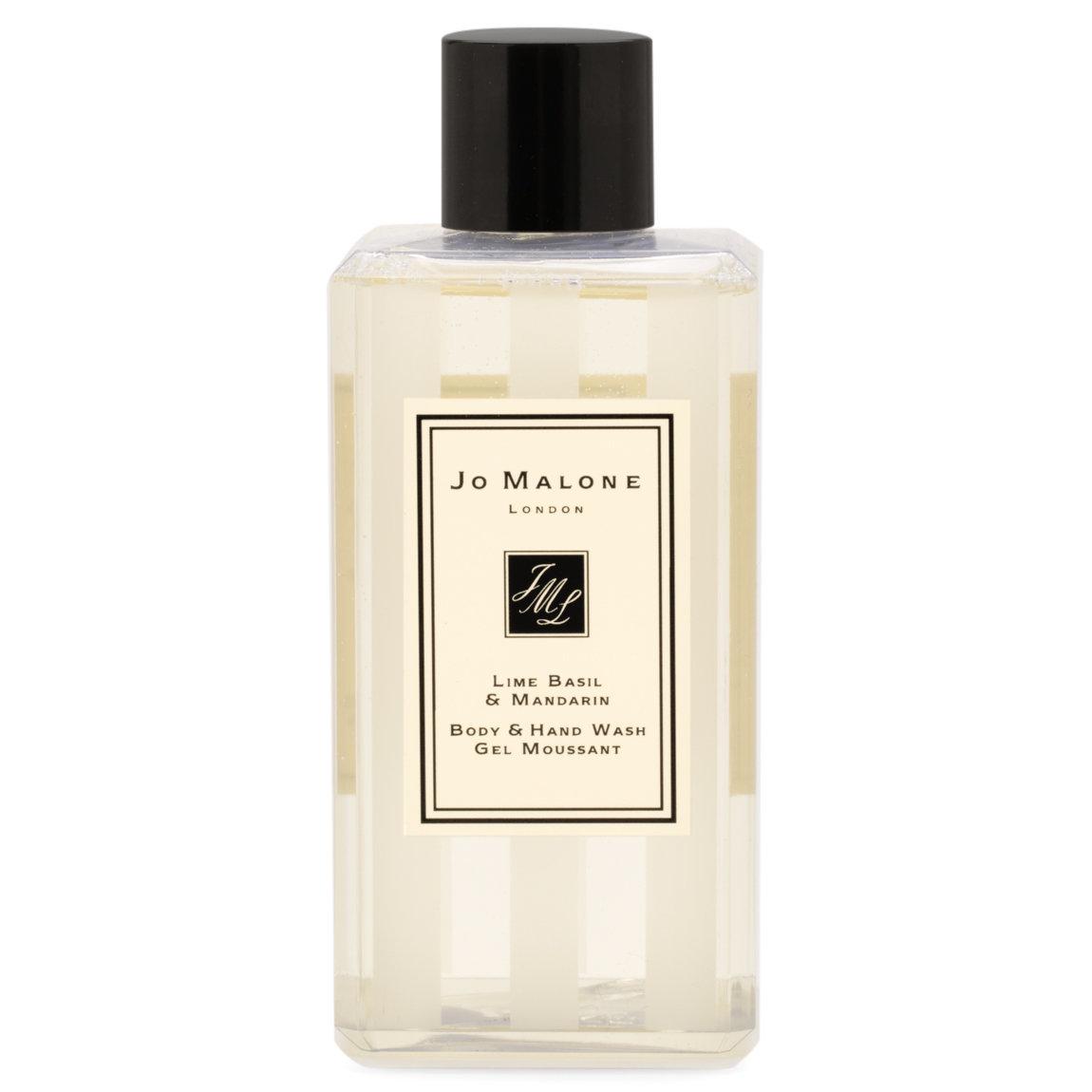 Jo Malone London Lime Basil & Mandarin Body & Hand Wash 100 ml product swatch.