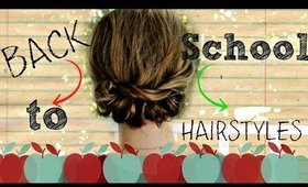 Back To School Headband Hairstyles Tutorial