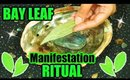 BAY LEAF MANIFESTATION RITUAL │ HOW TO ATTRACT WITH THE NEW MOON USING BAY LEAVES!